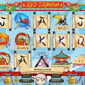 red dragon slot game