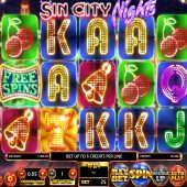 sin city nights slot game