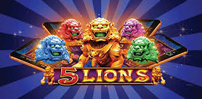 Cover art for 5 Lions slot