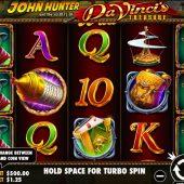 da vinci's treasure slot game