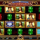 davinci diamonds masterworks slot game