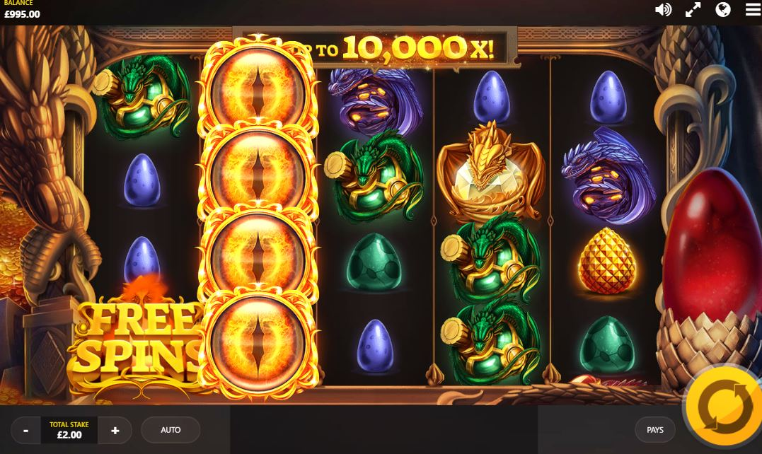 Dragon Fire Slot Game