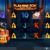 flaming fox slot game