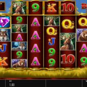 buffalo rising slot game