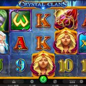 crystal clans slot game