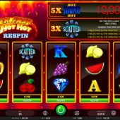 super fast hot hot respin slot game