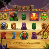 volcano eruption extreme slot game