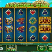 anaconda wild slot game