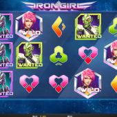 iron girl slot game
