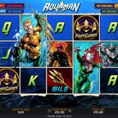 aquaman slot game