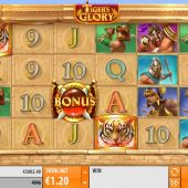tiger glory slot game