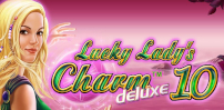 Cover art for Lucky Lady's Charm Deluxe 10 slot