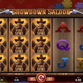 showdown saloon slot game