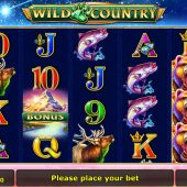 wild country slot game