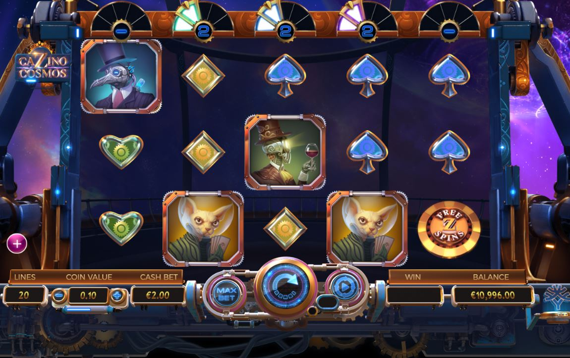 Free cazino cosmos slot machine online yggdrasil games lady