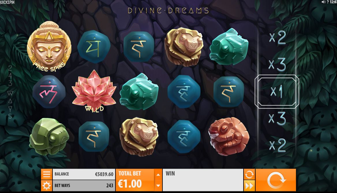 Divine dreams slot machine online quickspin lar?