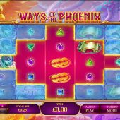 ways of the phoenix slot game