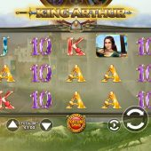 king arthur slot game