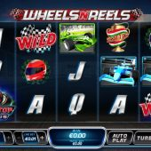 wheels n reels slot game