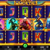 book of immortals slot game