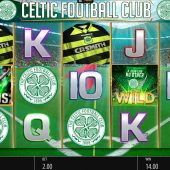 celtic football club slot game
