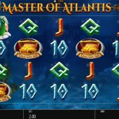 master of atlantis slot game
