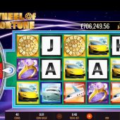 megajackpots wheel of fortune on air slot game