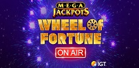 Cover art for Megajackpots Wheel of Fortune On Air slot