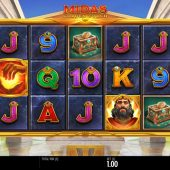 midas golden touch slot game
