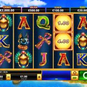 scarab queen slot game