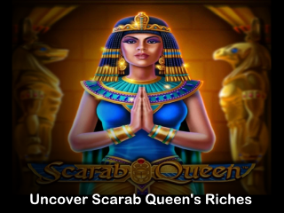 scarab queen slot mobile slider