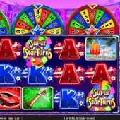 super star turns slot game