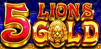 Cover art for 5 Lions Gold slot