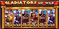Cover art for Gladiators go Wild slot