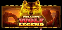 Cover art for Wolf Legend Megaways slot