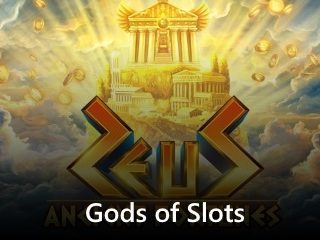 Ancient Fortunes Zeus slot mobile slider