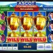 ascot sporting legends slot game