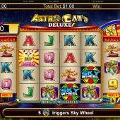 astro cat deluxe slot game