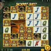 jackpot quest slot game