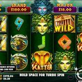 medusa strike slot game