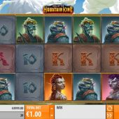 mountain king slot game
