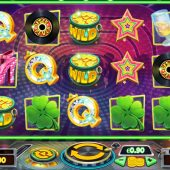 barry the disco leprechaun slot game