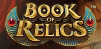 Cover art for Book of Relics slot