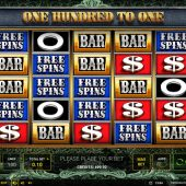 one hundred to one slot game