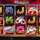 thundercats reels of thundera slot game
