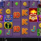 tiki treasures megaways slot game