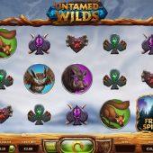 untamed wilds slot game