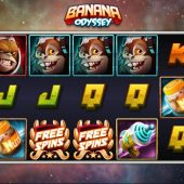 banana odyssey slot game