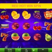 red hot win spin slot game