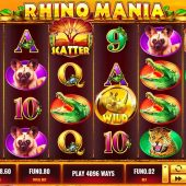 rhino mania slot game